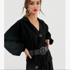 ASOS Broderie Shirt Dress & Elastic Belt for SALE!